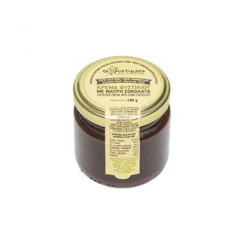 Κρέμα Φιστικιού Με Μαύρη Σοκολάτα 100gr