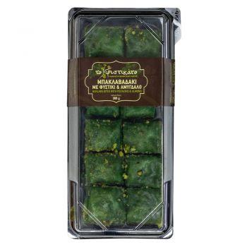 Mπακλαβαδάκι Με Φύλλο Φυστικιού 300gr